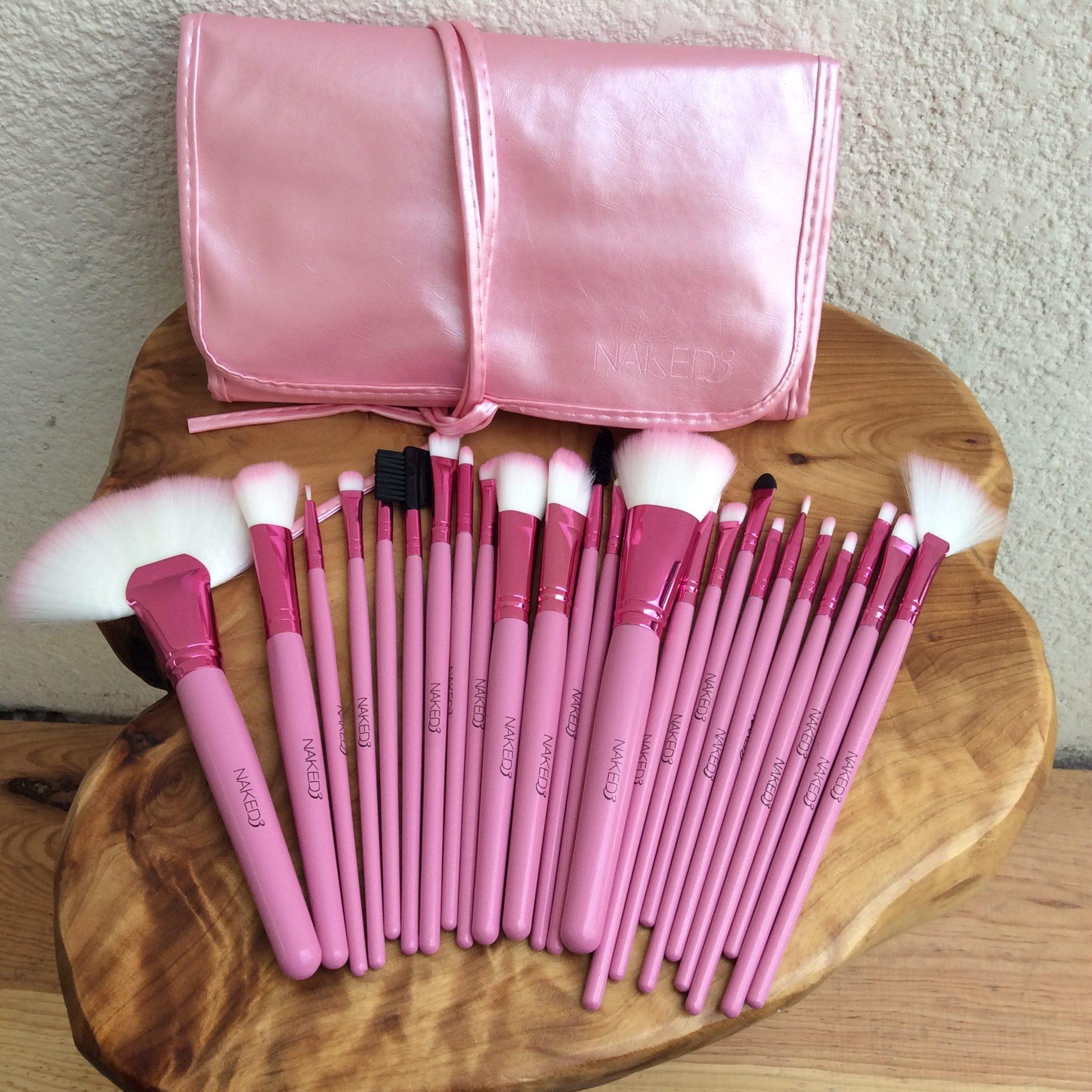 Brochas nude de 11 piezas - Lauret Boutique