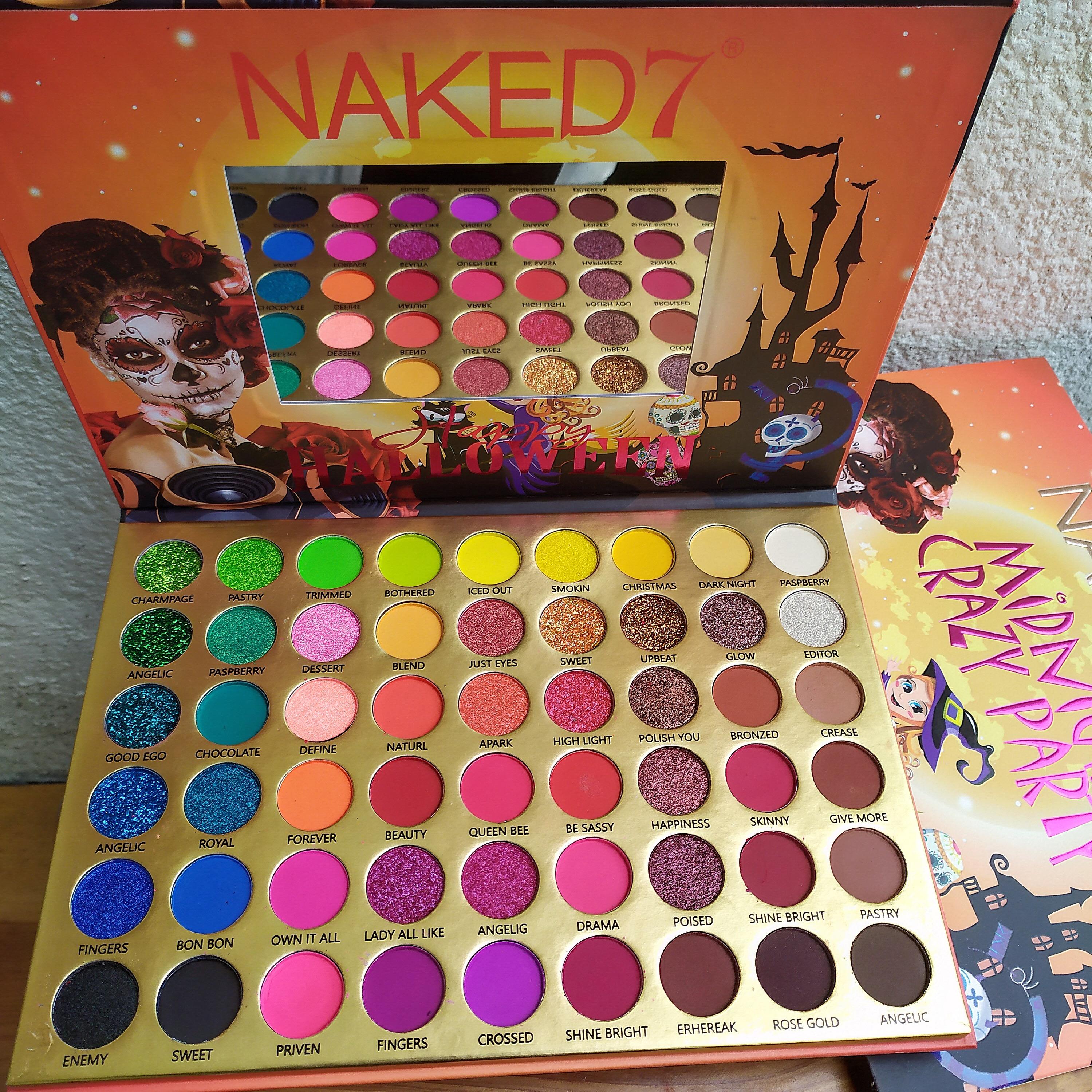 Paleta de sombras naked rainbow colorful - Joi Boutique