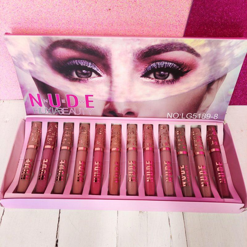 Set de 12 Labiales huxia beauty - Joi Boutique